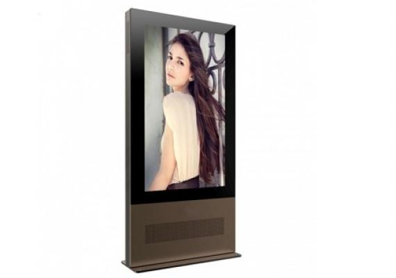 65寸户外高清超薄防水液晶网络广告机
